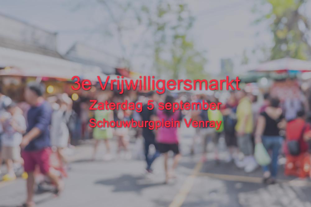 vrijwilligersmarkt 2020